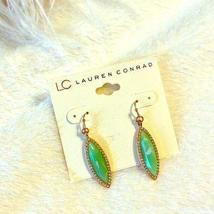 LC dangle earrings